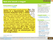 Tablet Preview of nemerrebaszikamagyar.blog.hu