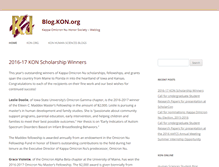 Tablet Preview of blog.kon.org